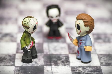 Horror-Spiel Standard-Bild - 30661336