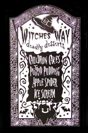 31th: Witch Halloween Dessert Menu