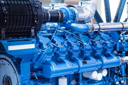 Diesel engine for boat