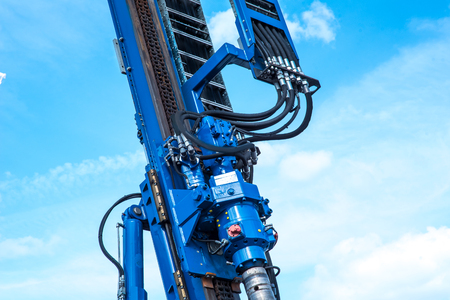 Big drilling machine Stock Photo - 82724110