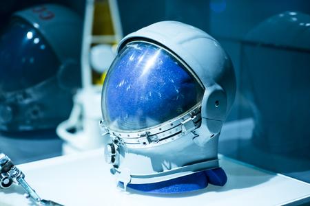 Soviet pilot military space helmet Фото со стока