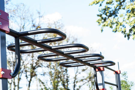 Outdoor gym for street workout