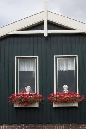 jardineras: Plantadores de la ventana Foto de archivo