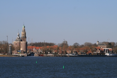 City view on Enkhuizen, the netherlands  photo