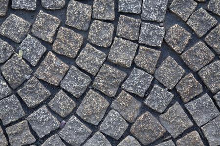 Pattern of natural stone pavers
