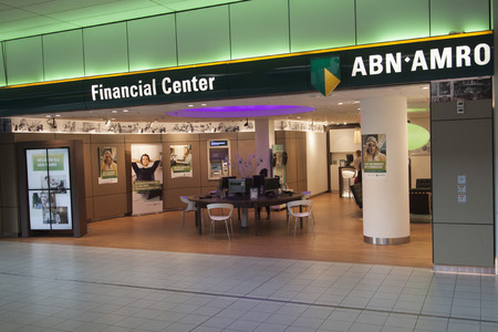 bank interior: Money to tight to mention Editorial