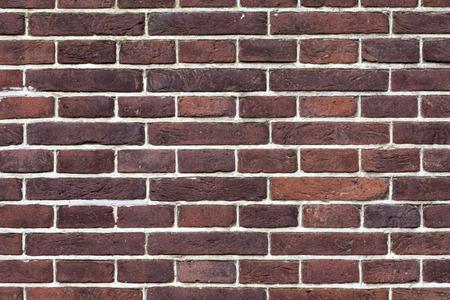 brown pattern: Dark brown  pattern brick wall Stock Photo