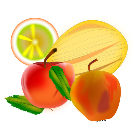 apples and oranges: Some fruits ?
