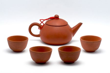 Generic Chinese clay pot tea set