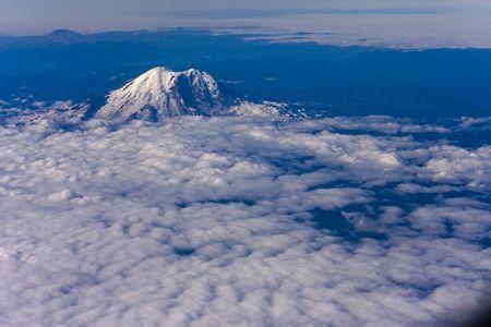 Mount Rainier in Washington State USA