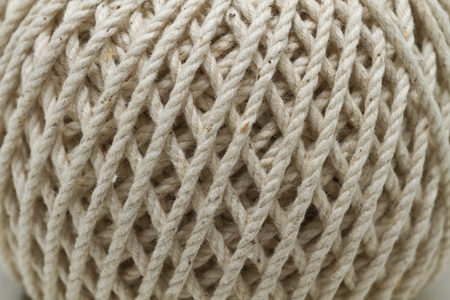 Close-up of a ball of yarn