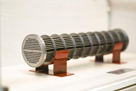 Model of the tube bundle