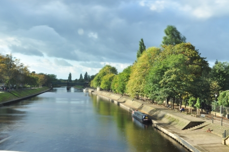 north yorkshire: York Ouse River, Yorkshire England