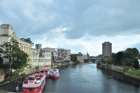 ouse: York Ouse River, Yorkshire England
