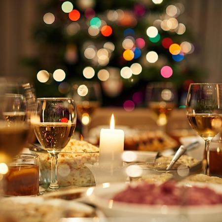 クリスマス ディナーは準備ができて