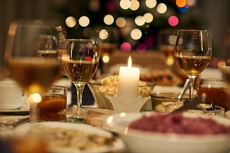 크리스마스 저녁 식사 축제
