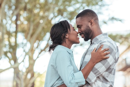 African American Couple Kissing Stock Photos And Images - 123RF