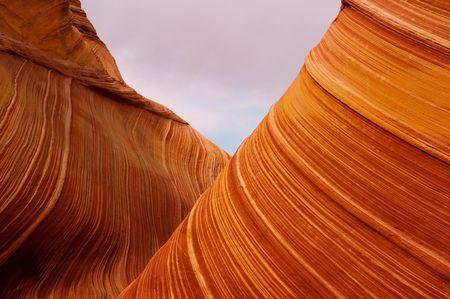 detail of sandstone landscape