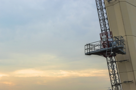 Passenger hoist for maintenance photo