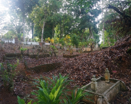 Muslim grave yard