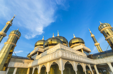 terengganu: Crystal Mosque at Terengganu, Malaysia