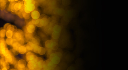 gold colour: Abstract circular bokeh background of LED bulblight