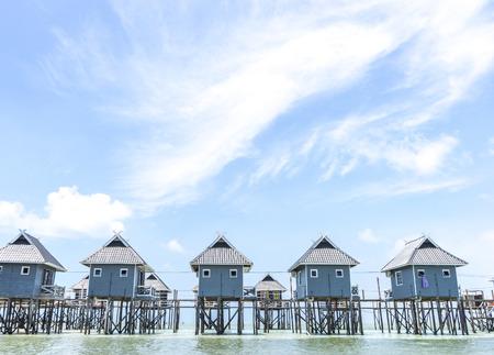 mabul: Bungalows on Mabul Island, Sabah, East Malaysia