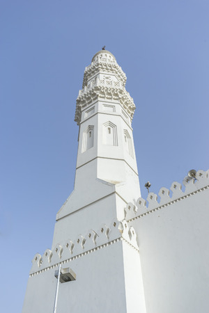 minaret: Minaret of Quba Mosque