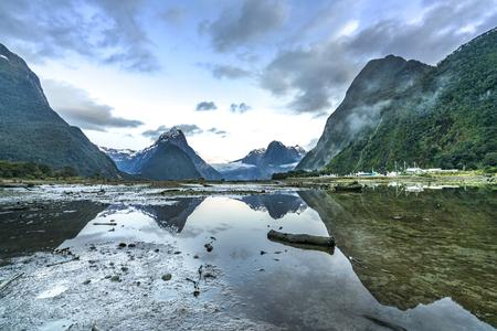 milford: Milford Sound, Fiordland, New Zealand