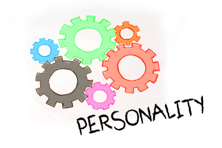 superacion personal: Engranajes y mecanismo de CRECIMIENTO PERSONAL Foto de archivo