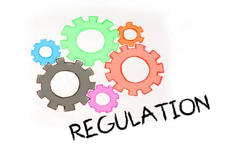 Engranajes y mecanismo de regulación