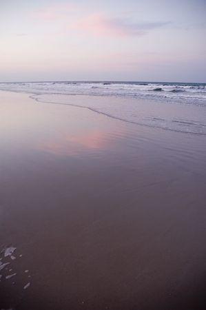 夕暮れ時のココア ビーチ