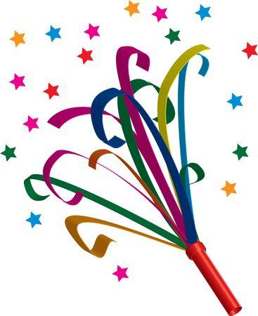 Partij gunst met confetti Stockfoto - 295935