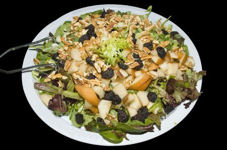 Raisin and Walnut Salad Banco de Imagens