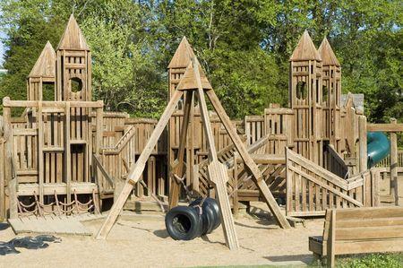 Community play area Imagens