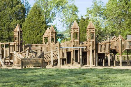 Community playground Imagens