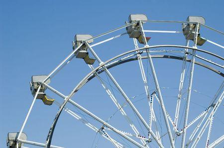 Top of ferris wheel