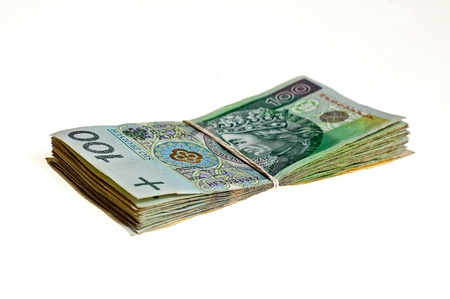 boodle: file prepared for the bribe money Stock Photo
