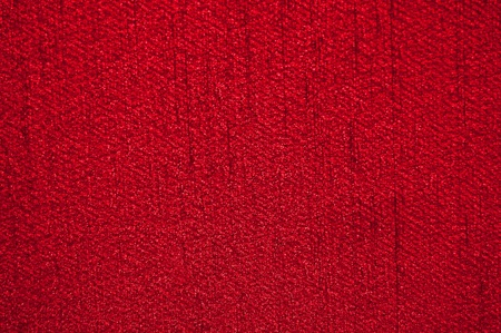 Red carpet texture or abstract  background Stock Photo