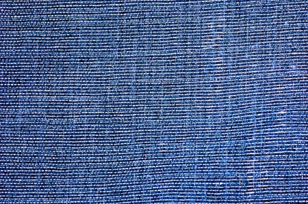 Blue canvas texture or background Stock Photo - 16383759