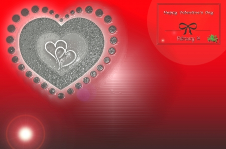 Valentine background objects prepared for the occasion