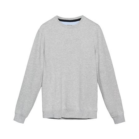 sweatshirt: Gray cotton sweatshirt