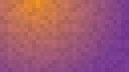yellow purple abstract background illustration with squares Illustration