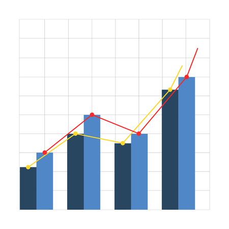 üzlet: az üzleti siker Illusztráció