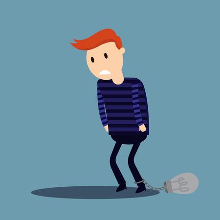 unsure: Business Not Idea Illustration