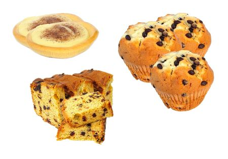 sinful: Assorted cakes Stock Photo