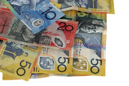 monies: Australian money Stock Photo