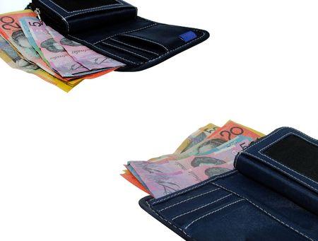 Australian money wallets photo