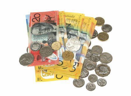 monies: Australian money Stock Photo