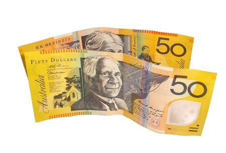 Australian $50 notes
